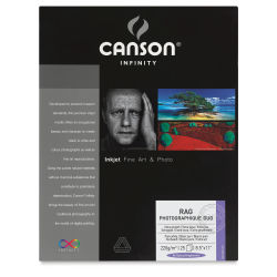 Canson Rag Photographique Duo Pack - 8-1/2'' x 11'', Pkg of 25