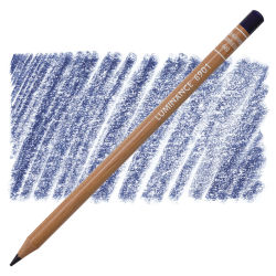 Caran d'Ache Luminance Colored Pencil - Indanthrone Blue