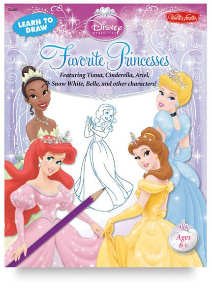 Learn To Draw Disney Favorite Princesses Blick Art Materials