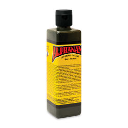 Alpha6 Alphanamel Lettering Enamel - Dark Olive, 236.6 ml, Bottle