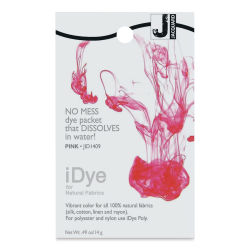 Jacquard iDye Color - Pink, Polyester / Nylon, 14 g packet