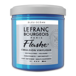 Lefranc & Bourgeois Flashe Vinyl Paint - Primary Blue, 125 ml jar