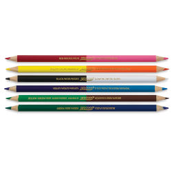Prang Duo-Color Colored Pencils - Set 12