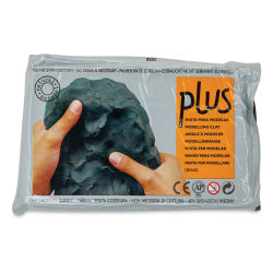 Activa Plus Clay - 2.2 lb, Black (front of package)