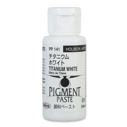 Holbein Tosai Pigment Paste - Titanium White, 35 ml
