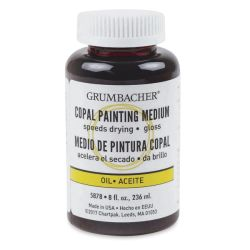 Grumbacher Copal Painting Medium - 8 oz can