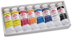 Utrecht Gouache - Foundation Set of 8, 14 ml tubes