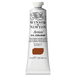 Winsor & Newton Artists' Oil Color - Transparent Brown Oxide, 37 ml tube