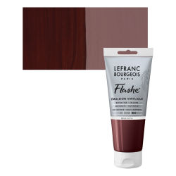 Lefranc & Bourgeois Flashe Vinyl Paint - Sepia Brown, 80 ml