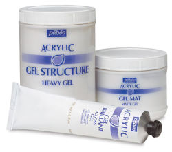 Pebeo Structure Gel (Heavy Gel) - 500 ml bottle