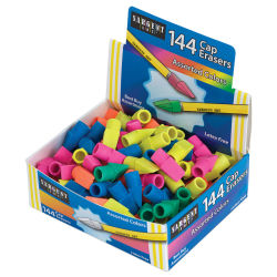Sargent Art Cap Erasers - Pkg of 144