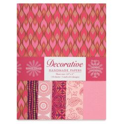 Shizen Decorative Paper - 8-1/2'' x 11'', Pink/Rose