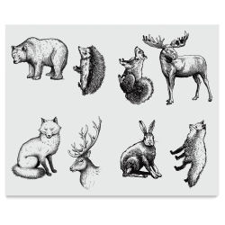 Mayco Designer Silkscreens - Woodland Animals