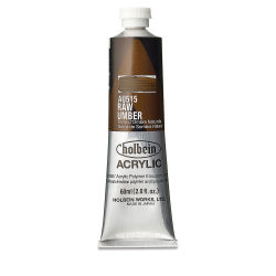 Holbein Heavy Body Artist Acrylics - Raw Umber, 60 ml tube