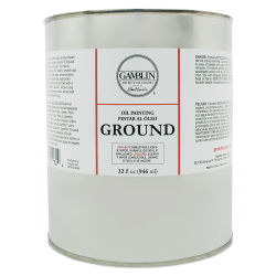 Gamblin Painting Ground - 32 oz can
