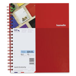 Hamelin 1 Subject Notebook - Red
