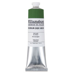 Williamsburg Handmade Oil Paint - Chromium Oxide, 150 ml tube