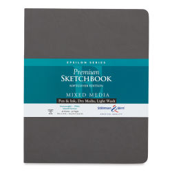 Stillman & Birn Archival Sketchbooks Epsilon Series - 10'' x 8'', Softcover