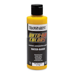 Createx Auto Air Color - 4 oz, Transparent Sun Gold
