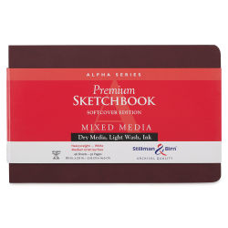 Stillman & Birn Alpha Series Sketchbook - 5-1/2'' x 8-1/2'', Soft Cover, 46 Sheets