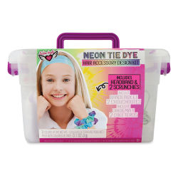 Neon Tie Dye Design Kit - Scrunchies and Headband