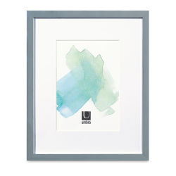 "Umbra Slim Frames with Mat - Chrome, 9"" x 11"", 5"" x 7"" Artwork Size"