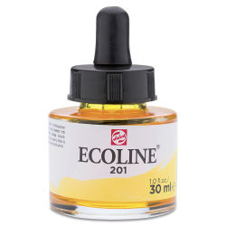 Ecoline Liquid Watercolor with Dropper - Yellow, 30 ml jar