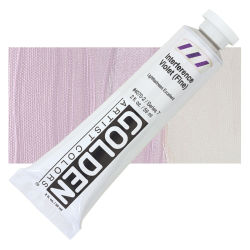 Golden Heavy Body Artist Acrylics - Interference Violet (Fine), 2 oz Tube