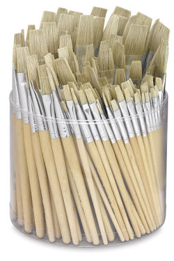 Bristle Brush Tub, 144 Brushes
