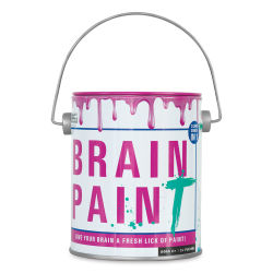 Professor Puzzle Brain Paint Game