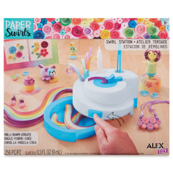 Alex DIY Paper Swirls - Swirly Station