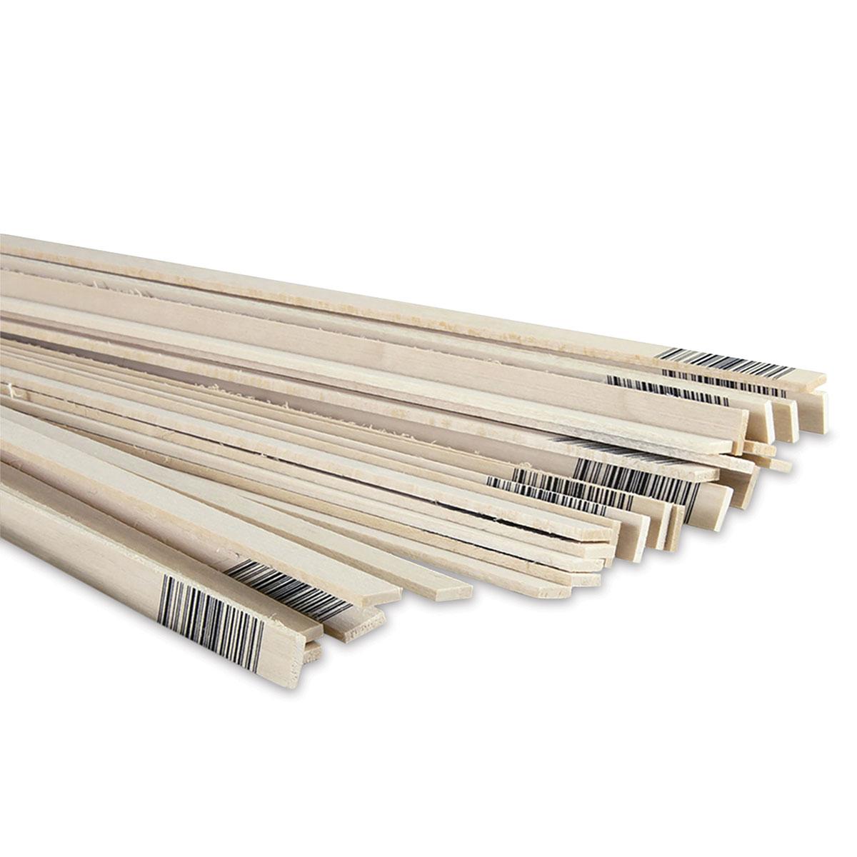 5 BWS3213 Bass Wood 3//32 x 3 x 24
