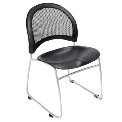 OFM Moon Chair - Plastic Seat, Stackable, Single Chair