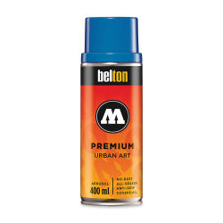 Molotow Belton Spray Paint - 400 ml Can, Tulip Blue Middle