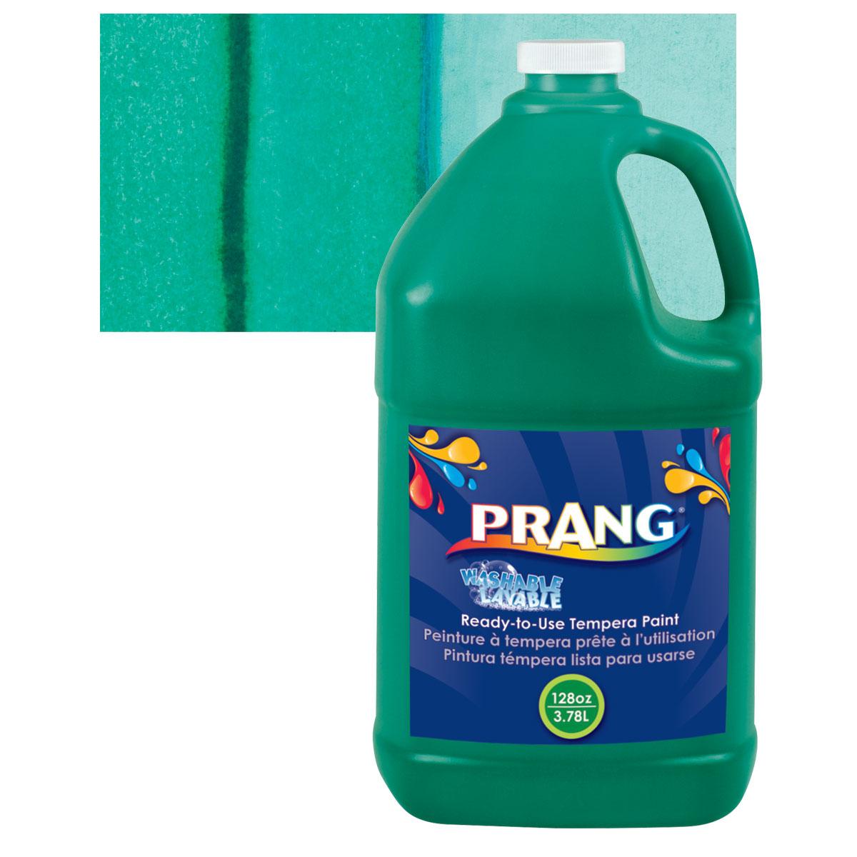 Prang Ready-To-Use Washable Tempera Paint - Green, Gallon