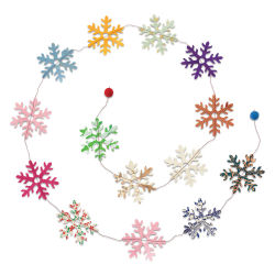 Giftsland Paper Garland - Snowflakes