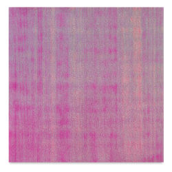 "Black Ink Dotty Embossed Iridescent Paper - Hot Pink, 12"" x 12"""