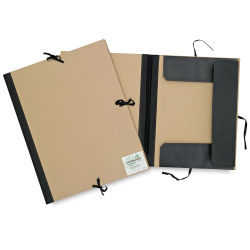 Cachet Deluxe Portfolio - 9'' x 12'', Earthbound with Flaps