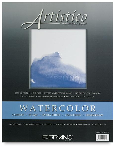 Fabriano Artistico Extra White Watercolor Paper Blick Art Materials