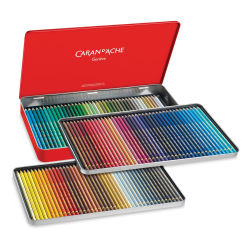 Caran d'Ache Pablo Colored Pencil Set - Assorted Colors, Set of 120