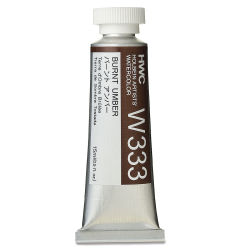 Holbein Artists' Watercolor - Burnt Umber, 15 ml tube