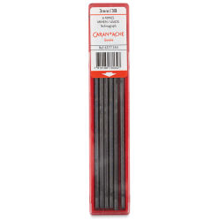 Caran d'Ache Technograph Leads - 3 mm, 3B, Pkg of 6 Leads (in package)