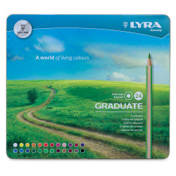 Lyra Graduate Colored Pencils - Set of 24