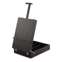 Blick Studio Sketch Box Easel - Black Birch Wood