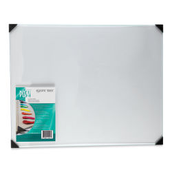 Posh Glass Tabletop Palette, Clear - 16'' x 20''