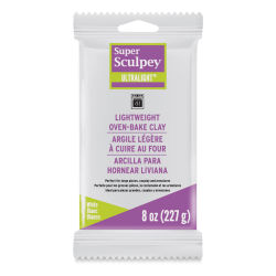 Sculpey UltraLight Clay - 8 oz, White