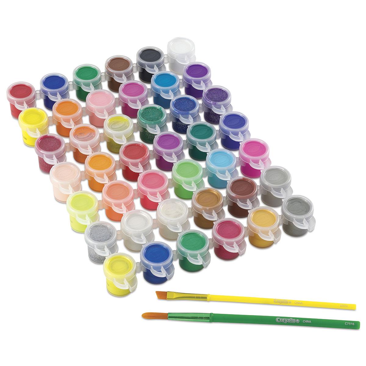 Crayola Washable Kids Paint - Paint Pot Set of 42
