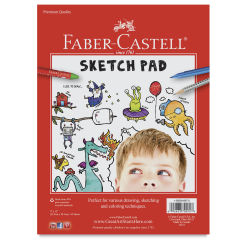 Faber-Castell Sketch Pad - 9'' x 12'', 45 Sheets
