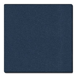 Ghent PremaTak Tackboard - 4 ft x 4 ft, Navy, Vinyl, Wrapped Edge
