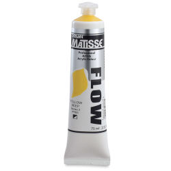 Matisse Flow Acrylic Yellow Deep, 75 ml
